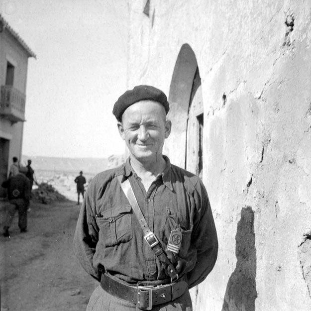 "John ""Robbie"" Robinson, November 1937.  Source ALBA PHOTO 11-0645, Tamiment Library, NYU."