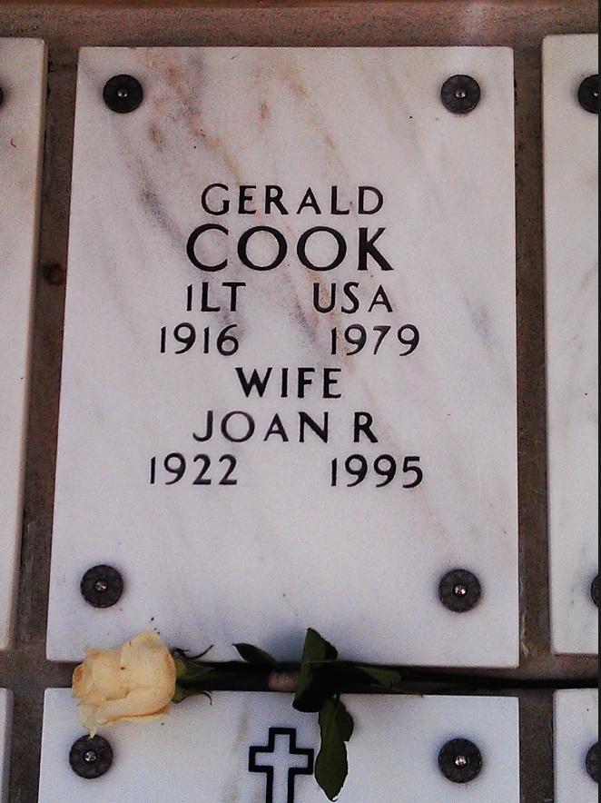 Cook Gravemarker