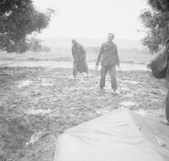 Rain in Camp