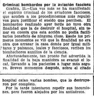 Bombing of Granen